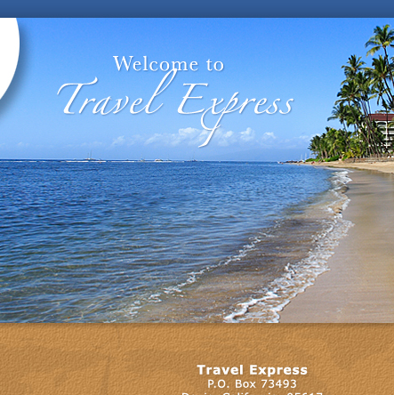 Welcome to the Travel Express Web site